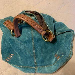 Lucky Brand Suede Handbag